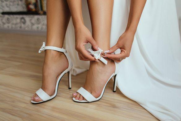 Tips om het uit te houden op je trouwschoenen