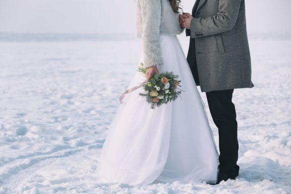Dit is waarom je moet trouwen in de wintermaanden!