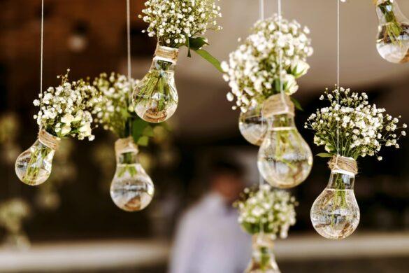 6 tips voor de decoratie van jouw bruiloft